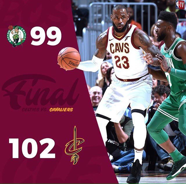 CLEVELAND CAVALIERS VS BOSTON CELTICS: NBA KICK-OFF