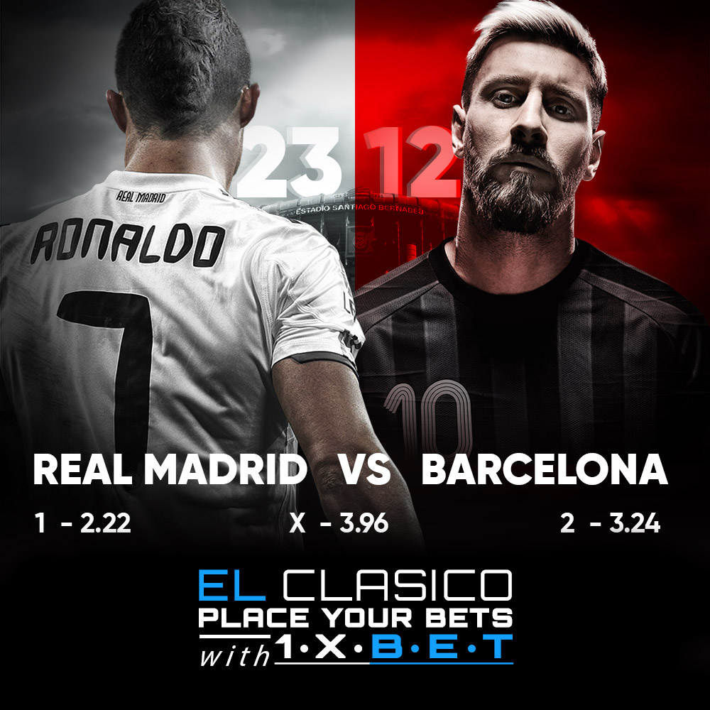 REAL MADRID VS BARCELONA: THE BEST MEETS THE BEST