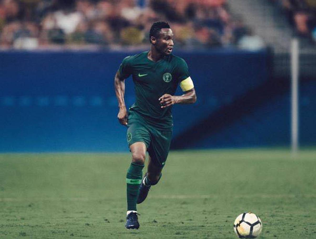 bc2915f37a1 The new Nigeria home kit to be worn at the World Cup 2018 in Russia was sold  out minutes after its release on Friday morning as hundreds of fans queued  ...