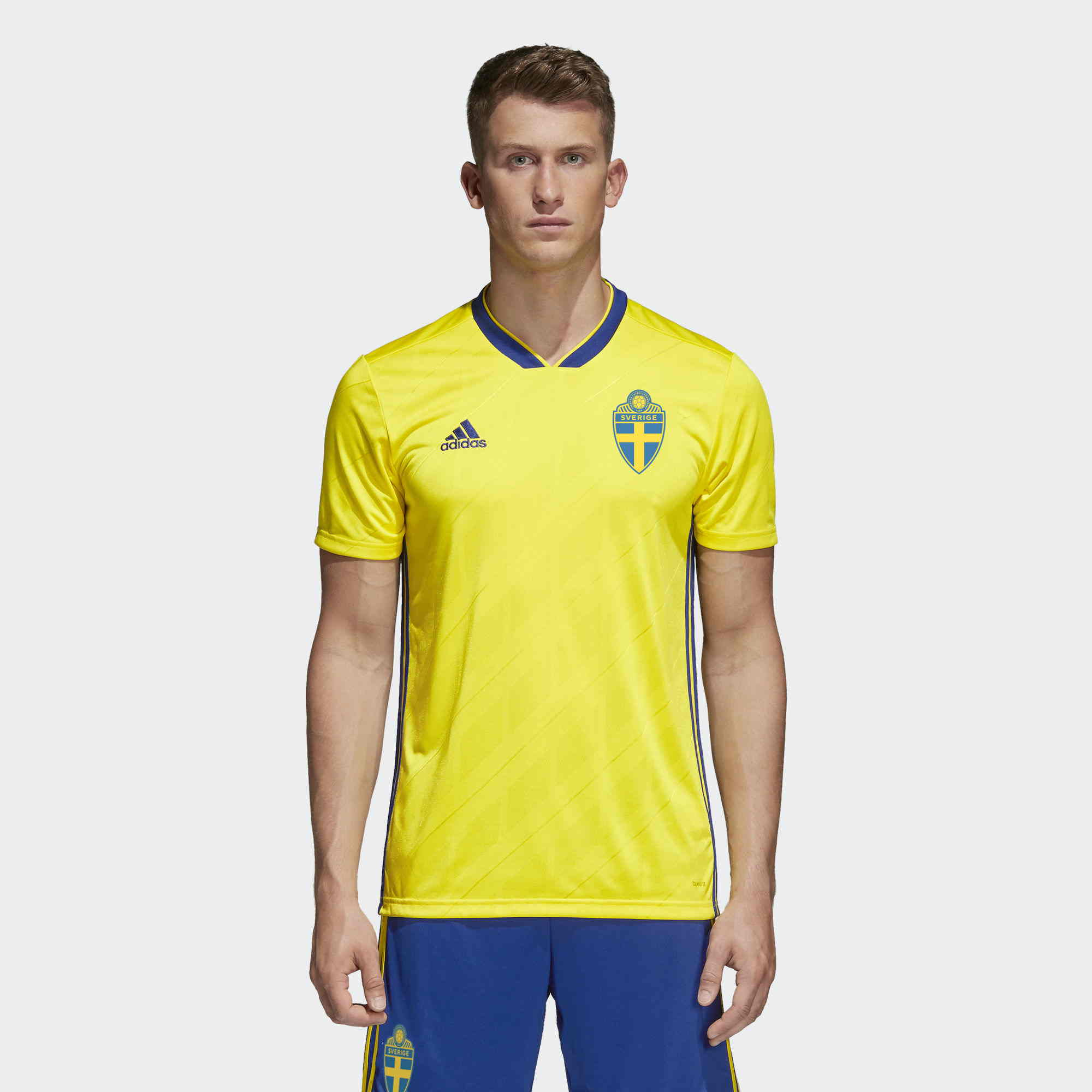 sweden 2018 adidas home kit
