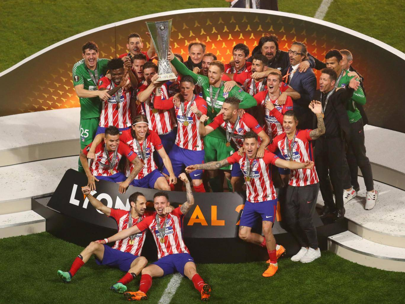 Atletico Madrid Clinch Europa League After Antoine