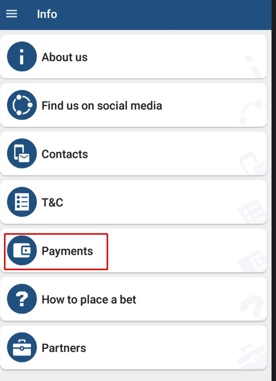 1xbet payments methods