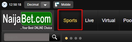 naijabet sports button
