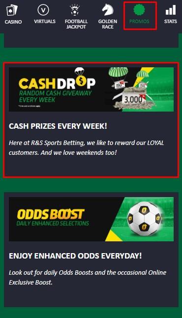premierbet cash drop